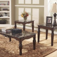 North Shore Dark Brown Occasional Table Set (Includes 3)