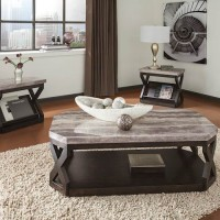 Radilyn Grayish Brown Occasional Table Set (Includes 3)
