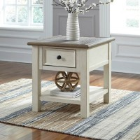 Bolanburg Two Rectangular End Table