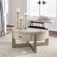 Urlander Whitewash Accent Table Set