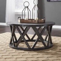 Sharzane Grayish Brown Accent Table Set