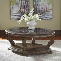 Charmond Brown Accent Table Set