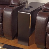 Carlyle Almost Black Chair Side End Table