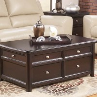 Carlyle Almost Black Accent Table Set