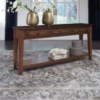 Adinton Reddish Brown Sofa Table