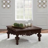 Brynhurst Reddish Brown Accent Table Set