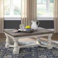Havalance Gray/White Accent Table Set