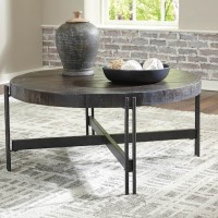 Jillenhurst Dark Brown Accent Table Set