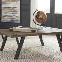 Haffenburg Medium Brown Accent Table Set