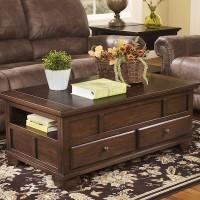 Gately Medium Brown Accent Table Set
