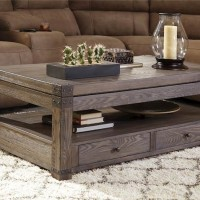 Burladen Grayish Brown Accent Table Set