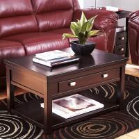 Hatsuko Dark Brown Accent Table Set