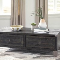 Todoe Dark Gray Accent Table Set