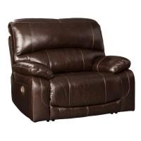 Hallstrung Chocolate Power Recliner/Adjustable Headrest