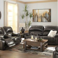 Hallstrung Gray Living Room Group