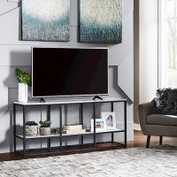 Donnesta White Extra Large TV Stand