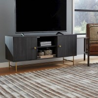 Yarlow Black Entertainment Unit