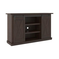 Camiburg Warm Brown Medium TV Stand