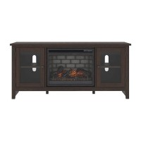 Camiburg Warm Brown Entertainment Unit