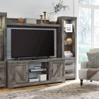 Wynnlow Gray Entertainment Unit