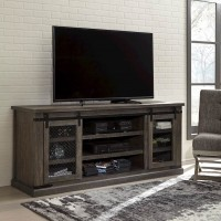 Danell Ridge Brown Extra Large TV Stand