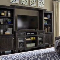Townser Grayish Brown Entertainment Unit