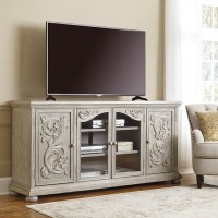 Marleny Gray Extra Large TV Stand