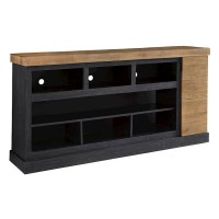 Tonnari Two XL TV Stand with Fireplace Option
