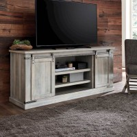 Carynhurst Whitewash Extra Large TV Stand