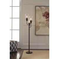 Jaak Bronze Finish Metal Floor Lamp (Includes 1)