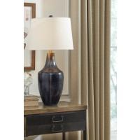 Evania Indigo Metal Table Lamp (Includes 1)