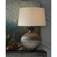 Magan Antique Bronze Finish Metal Table Lamp (Includes 1)