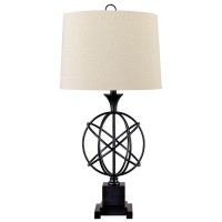 Camren Black Metal Table Lamp (Includes 1)