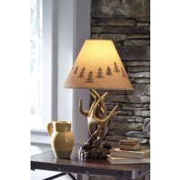 Derek Brown Poly Table Lamp (Includes 2)