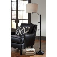 Anemoon Black Metal Floor Lamp (Includes 1)