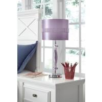 Nyssa Purple Metal Table Lamp (Includes 1)