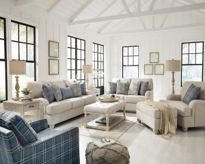 Traemore Linen Living Room Group