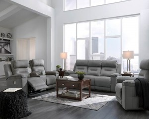Trampton Smoke Living Room Group