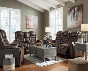 Game Zone Bark Living Room Group