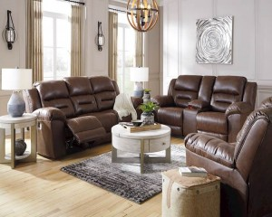 Stoneland Chocolate Living Room Group