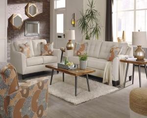 Benissa Alabaster Living Room Group