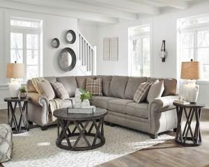 Olsberg Steel Sectional Living Room Group