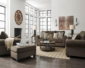 Nesso Walnut Living Room Group