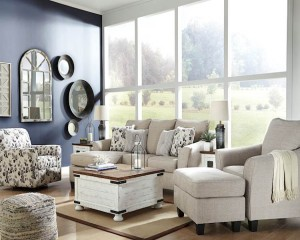 Abney Driftwood Living Room Group
