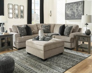 Bovarian Stone Sectional Living Room Group