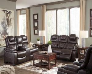 Warnerton Chocolate Living Room Group