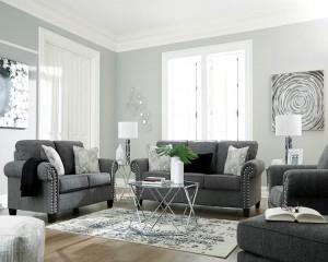Agleno Charcoal Living Room Group