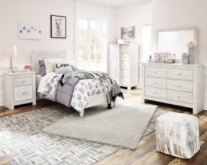 Paxberry Whitewash Bedroom Set