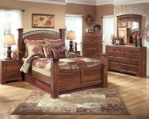 Timberline Warm Brown Bedroom Set