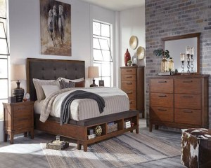 Ralene Medium Brown Bedroom Set